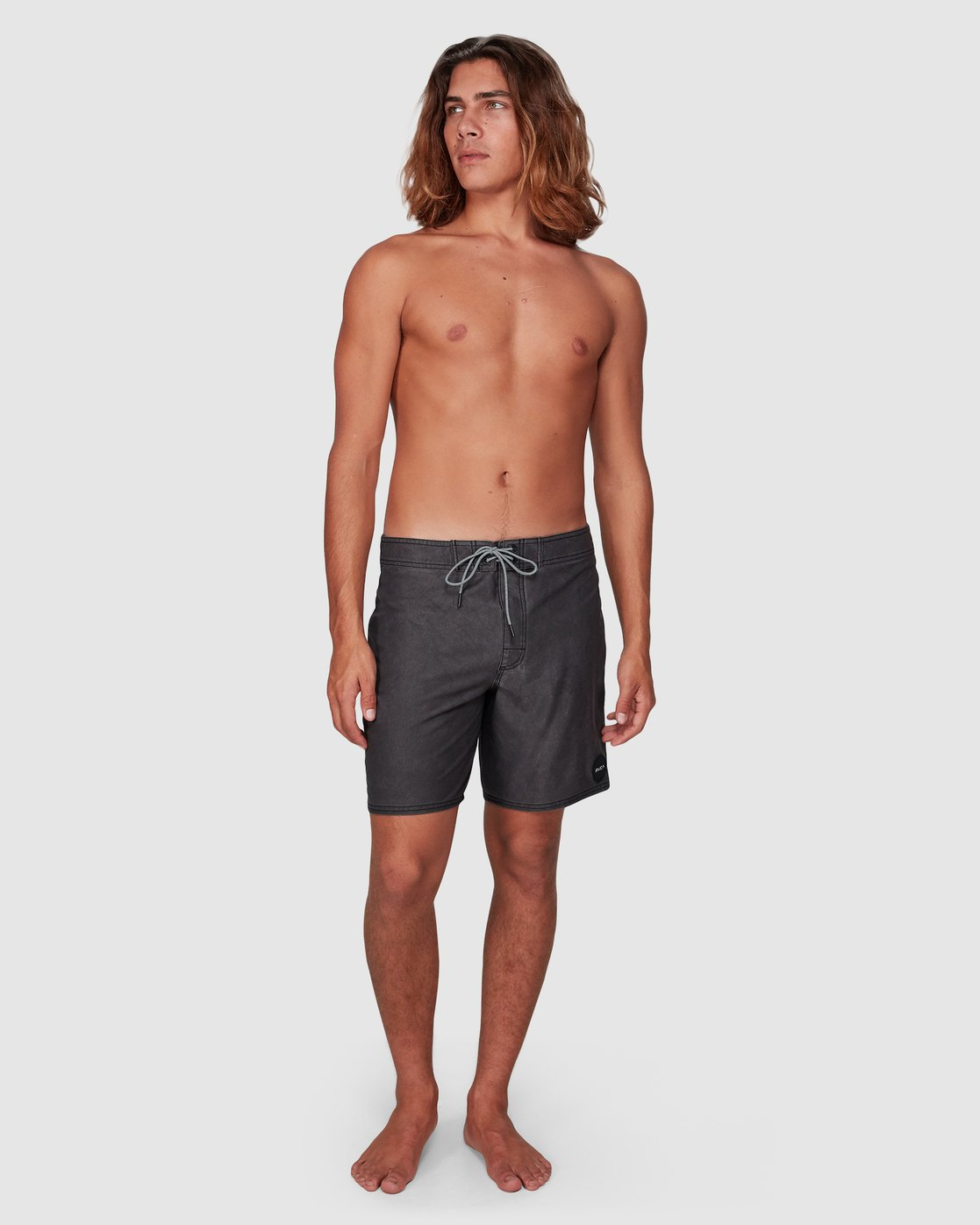 9 VA Trunk 17 Inch BoardShort Black R192407 RVCA