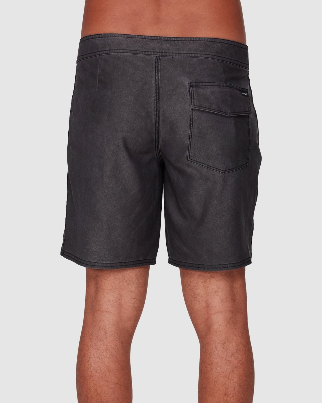 2 VA Trunk 17 Inch BoardShort Black R192407 RVCA
