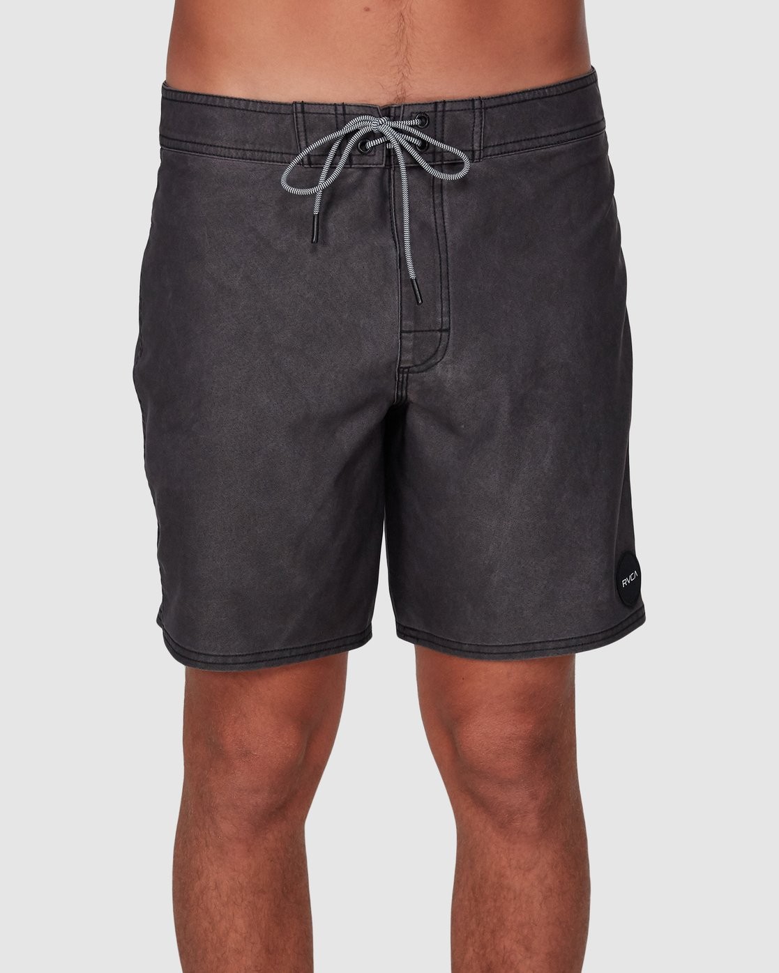 1 VA Trunk 17 Inch BoardShort Black R192407 RVCA