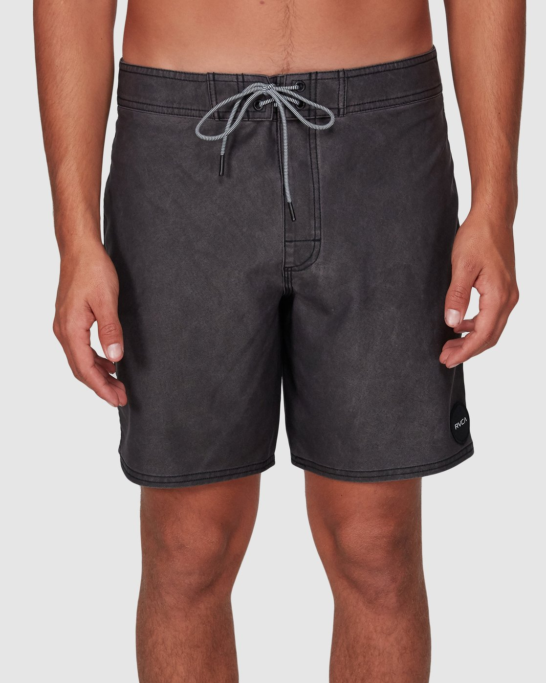 4 VA Trunk 17 Inch BoardShort Black R192407 RVCA