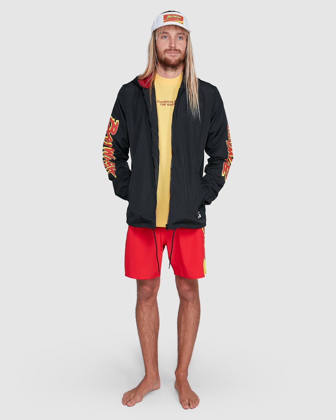 7 Tower 12 Windbreaker Black R192431 RVCA