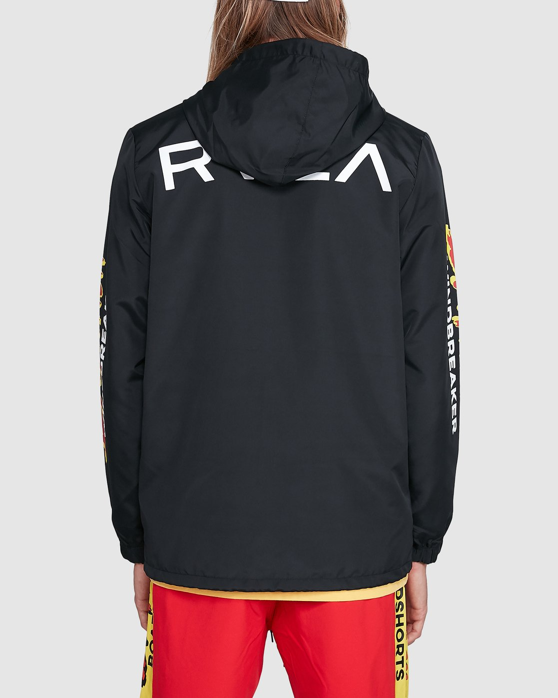3 Tower 12 Windbreaker Black R192431 RVCA
