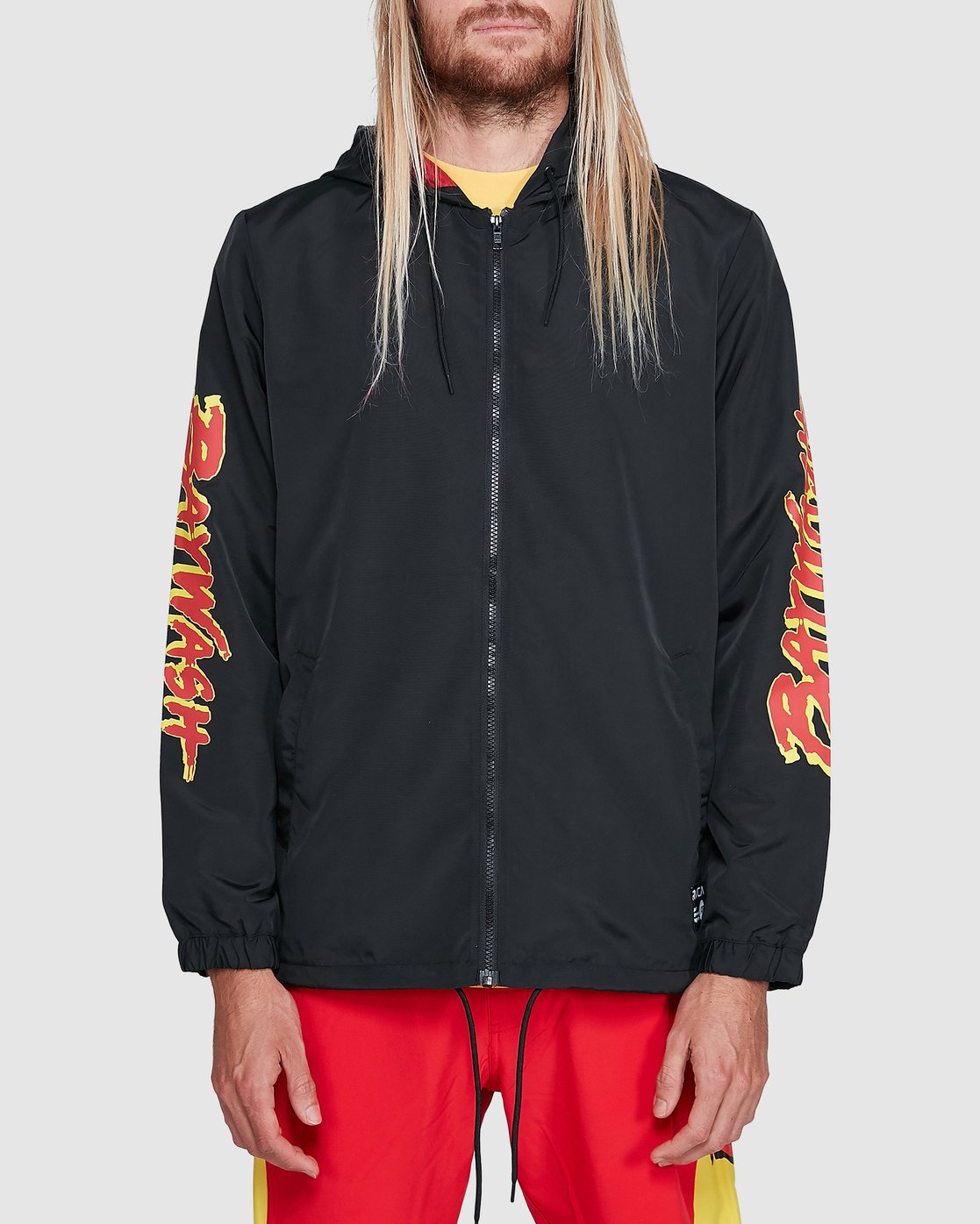 1 Tower 12 Windbreaker Black R192431 RVCA