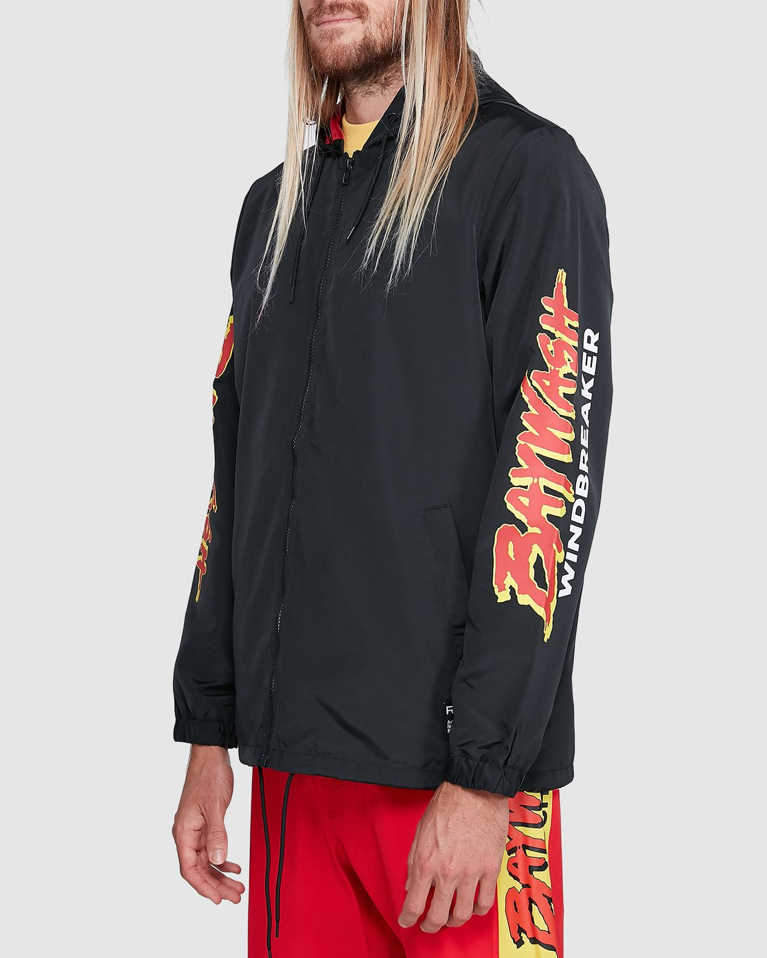 2 Tower 12 Windbreaker Black R192431 RVCA