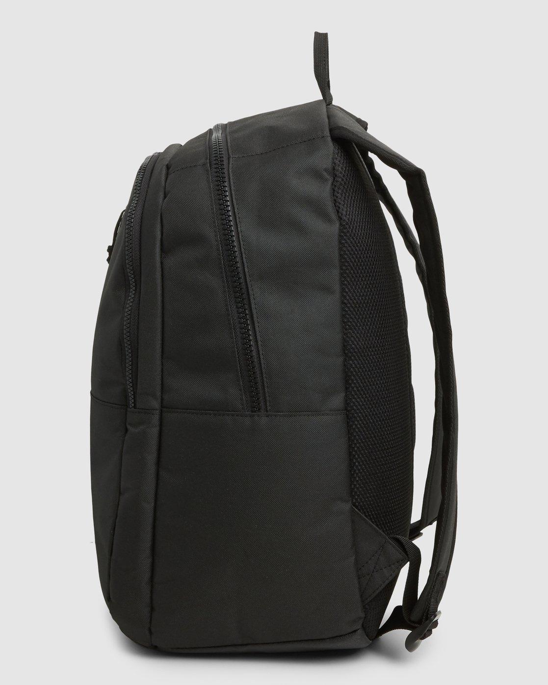 1 Rvca Down The Line Backpack Black R192451 RVCA
