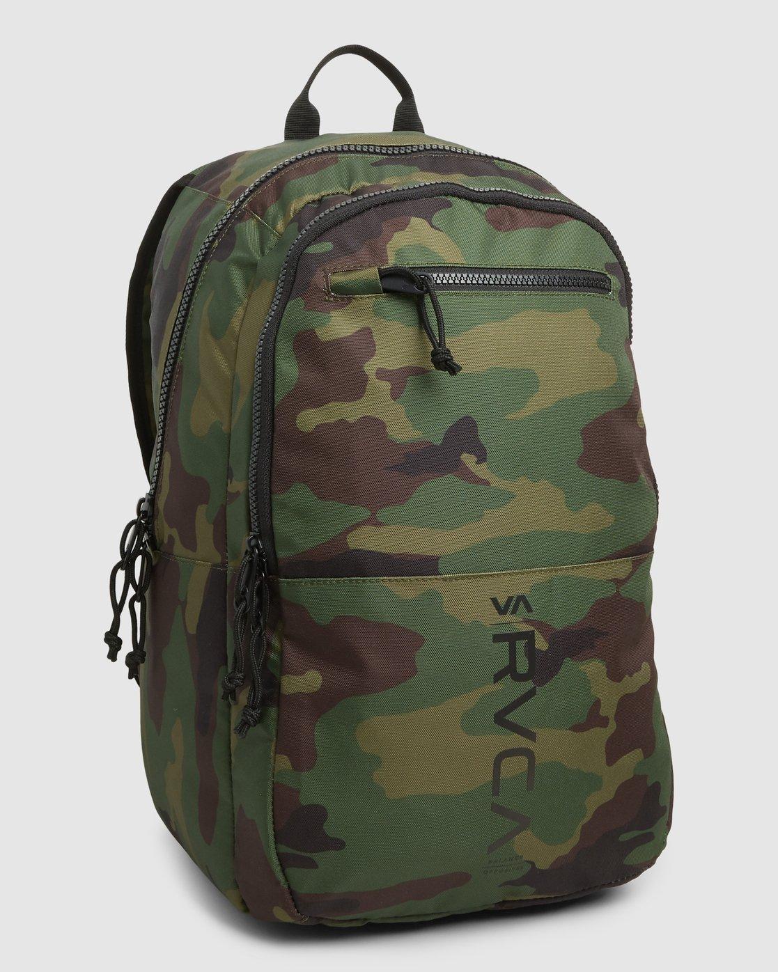 3 Rvca Down The Line Backpack Camo R192451 RVCA