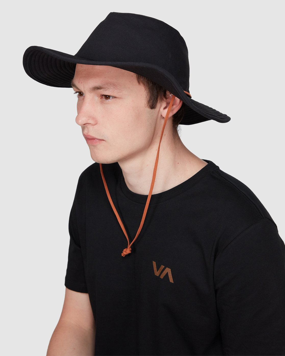 3 RVCA Bucket Hat Black R192573 RVCA