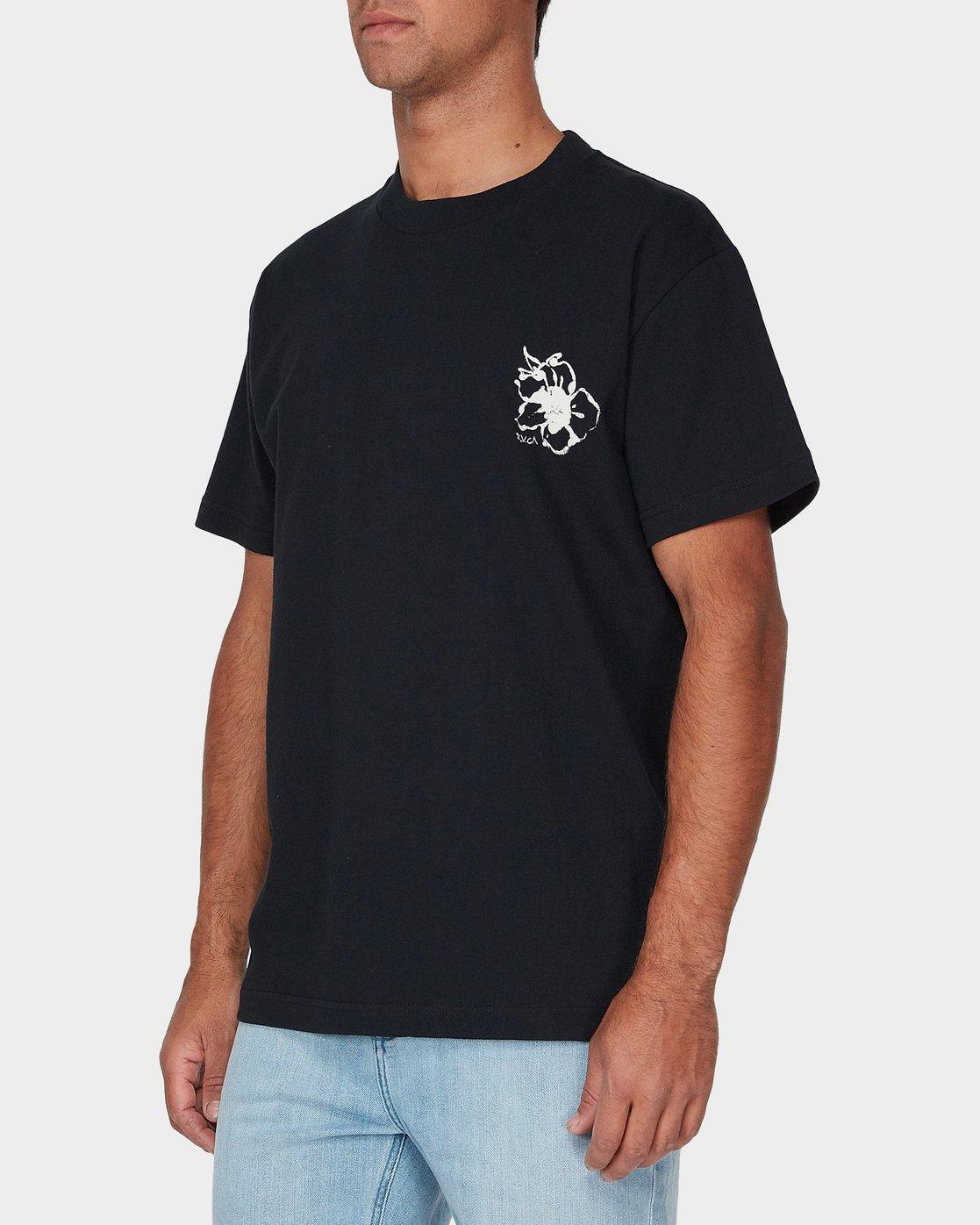 1 Mono Flower Short Sleeve T-Shirt  R193044 RVCA