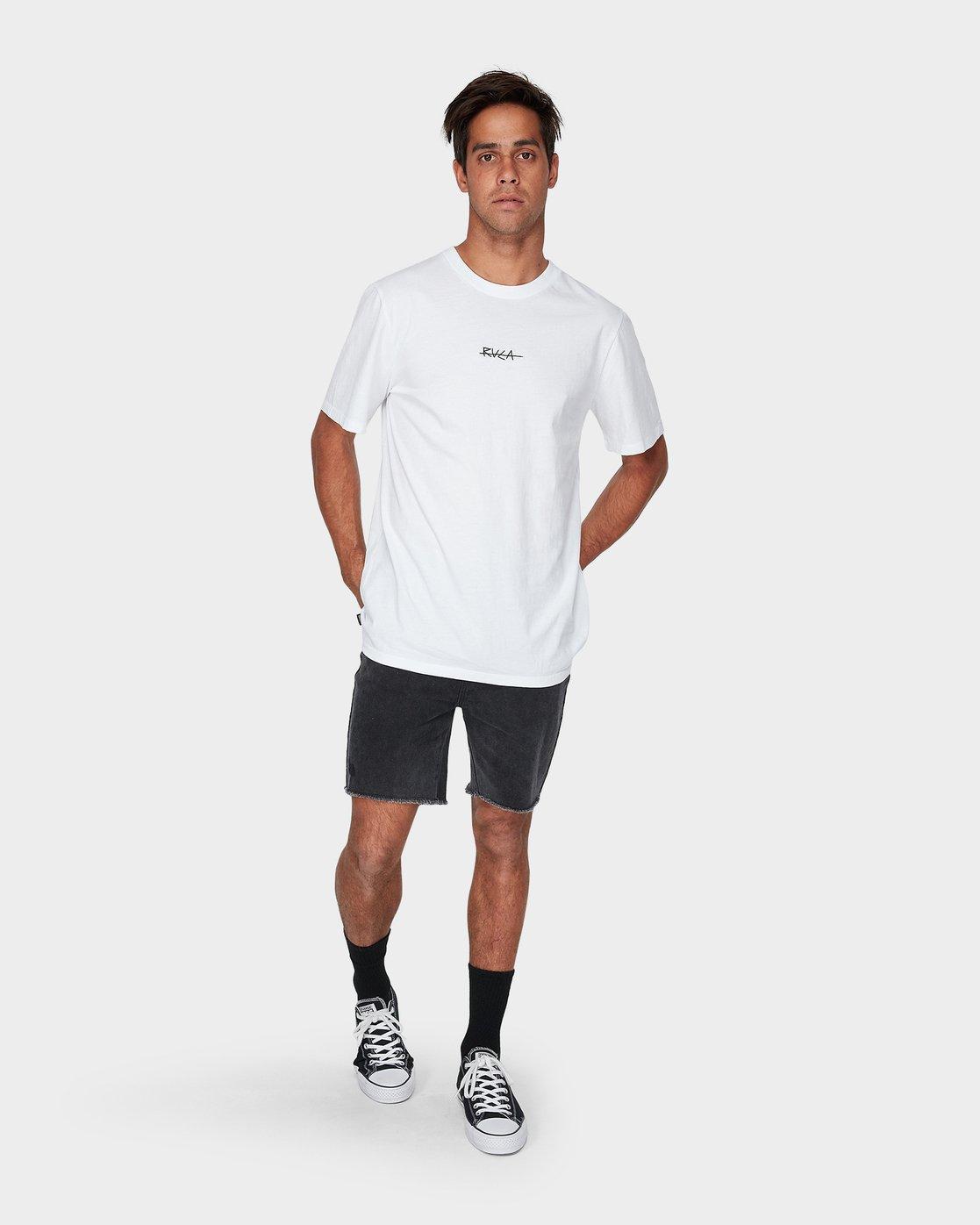 3 Snakes & Daggers Short Sleeve T-Shirt  R193047 RVCA