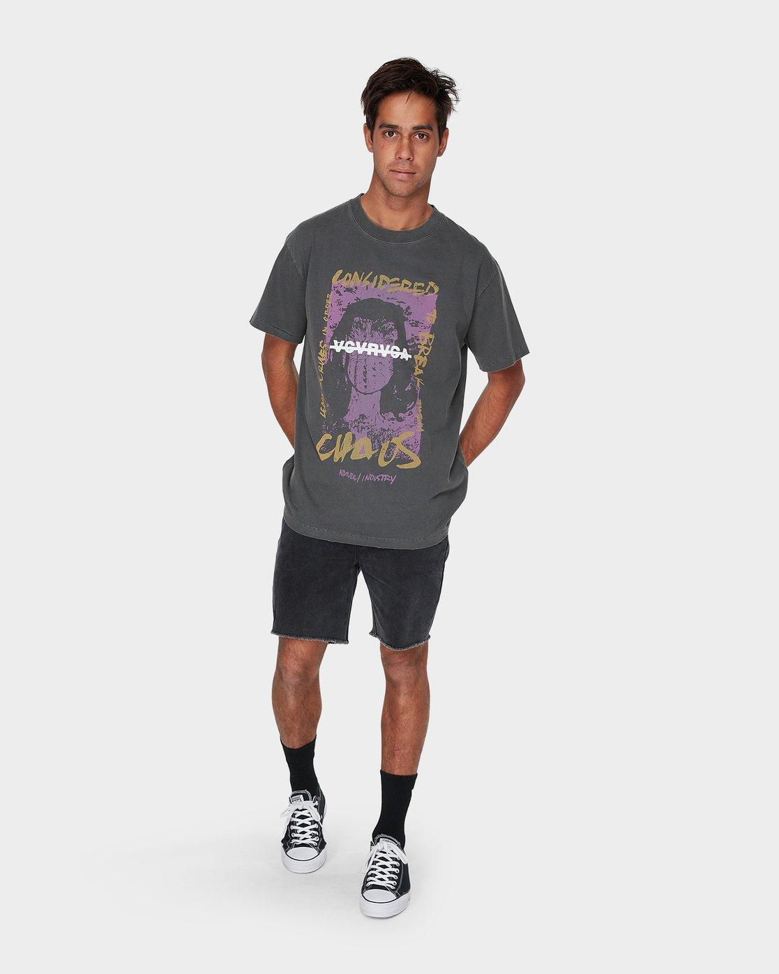 3 Miss Chaos Short Sleeve T-Shirt  R193060 RVCA