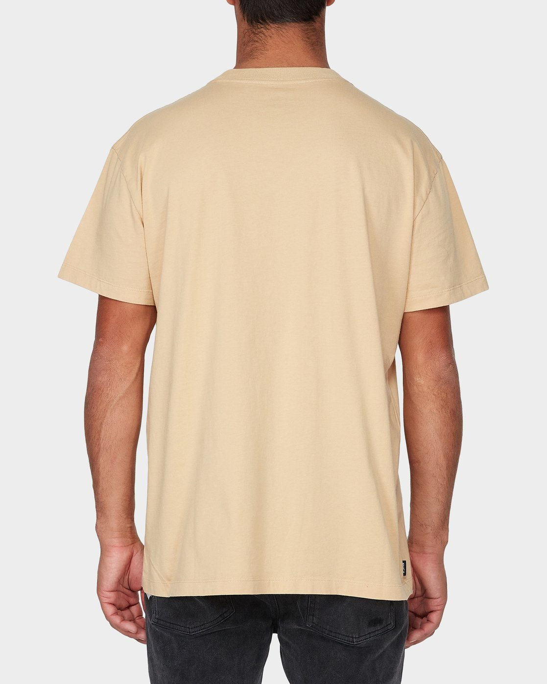 2 Chaotic Short Sleeve T-Shirt Yellow R193062 RVCA