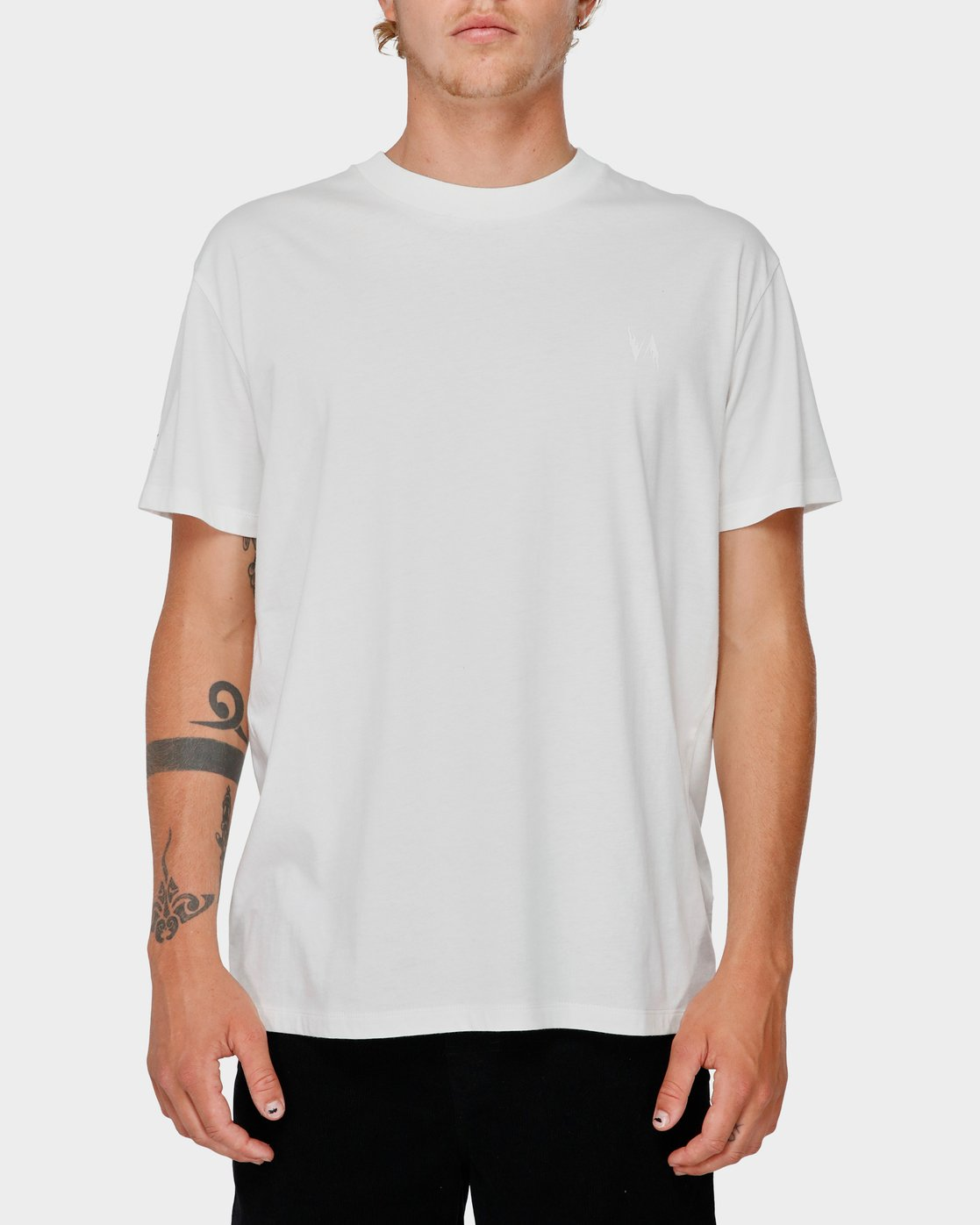 1 Va X Highline Horse T-Shirt White R193067 RVCA