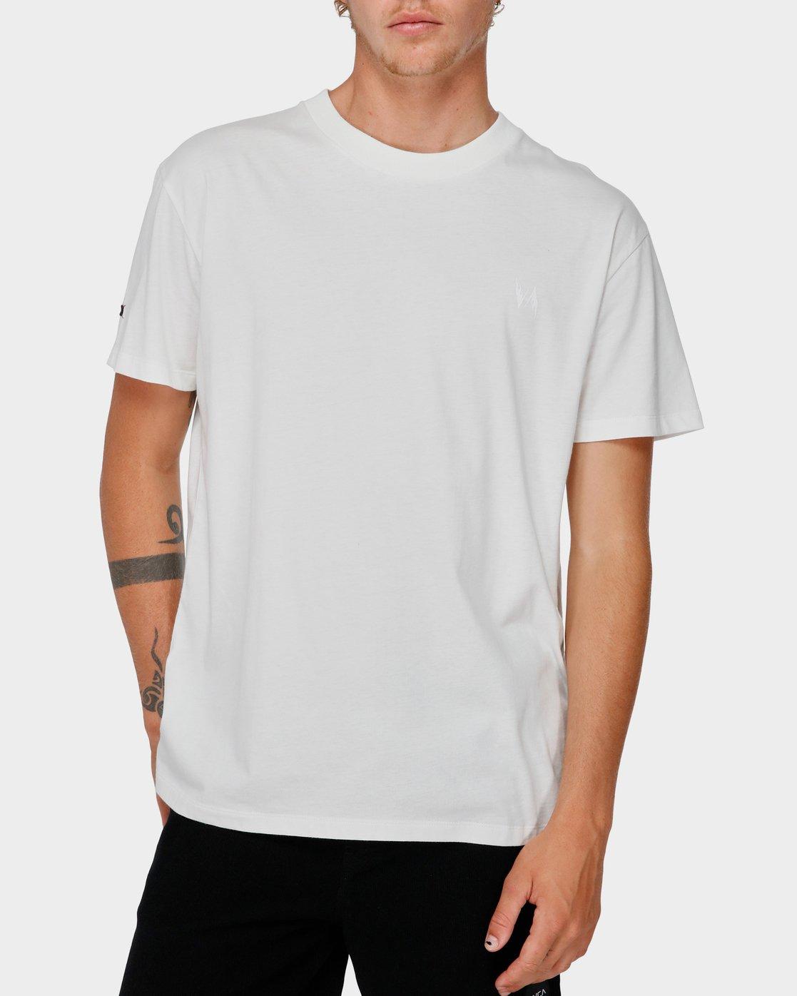 0 Va X Highline Horse T-Shirt White R193067 RVCA