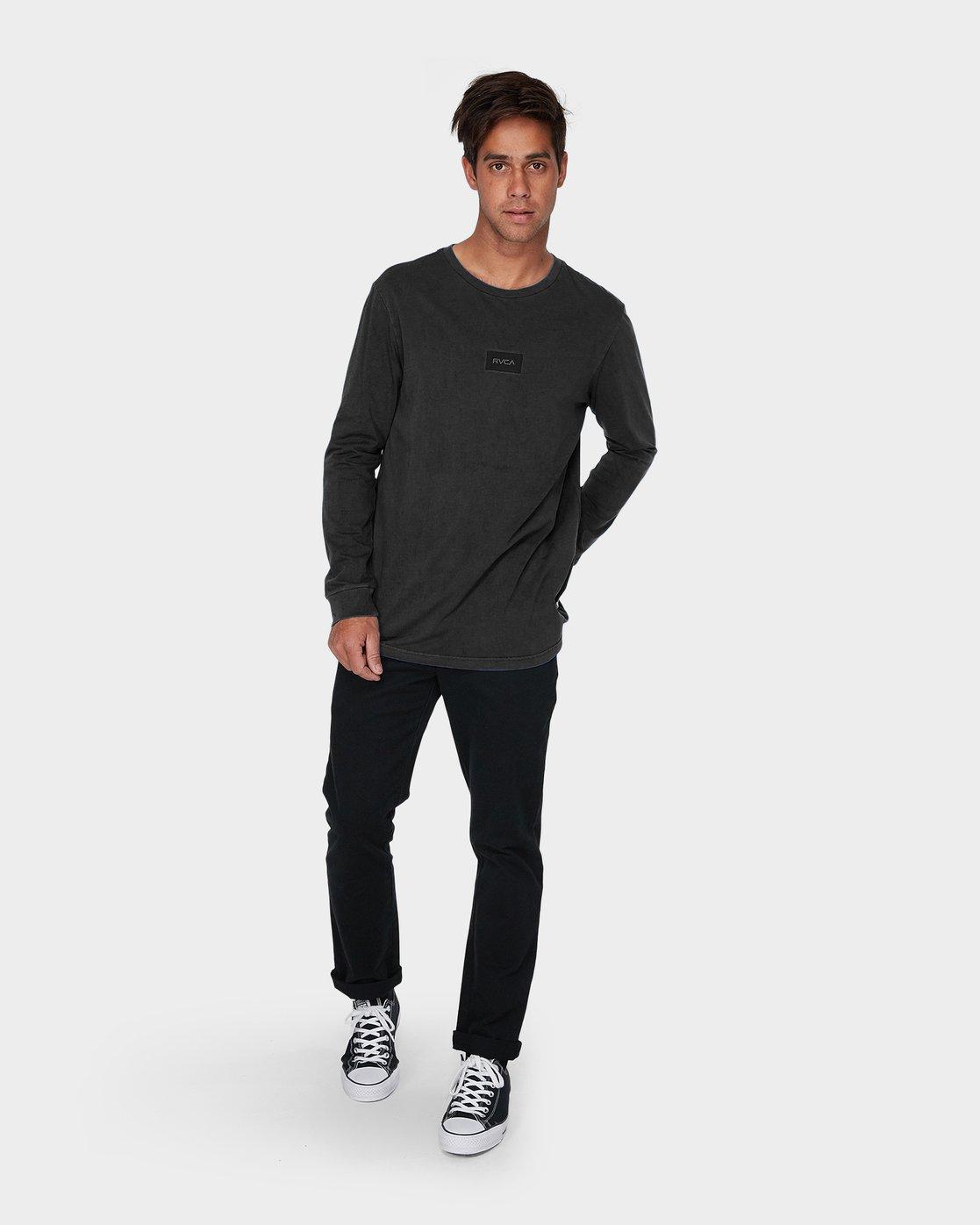 3 Focus Long Sleeve T-Shirt  R193091 RVCA