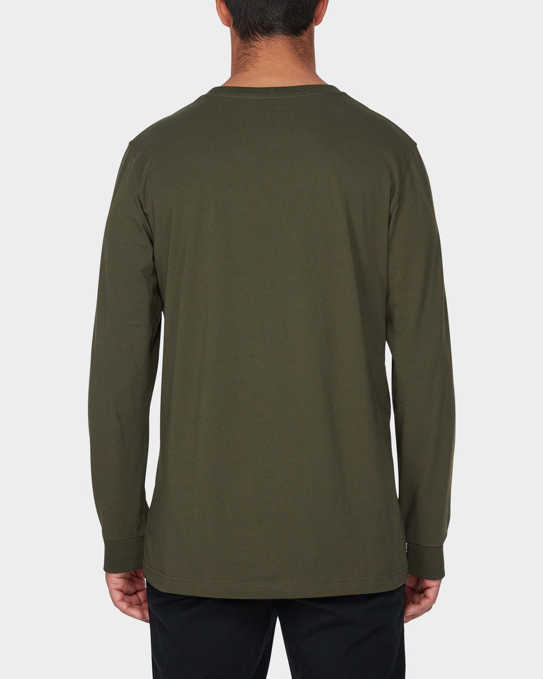 2 RVCA Keyliner Long Sleeve T-Shirt  R193094 RVCA