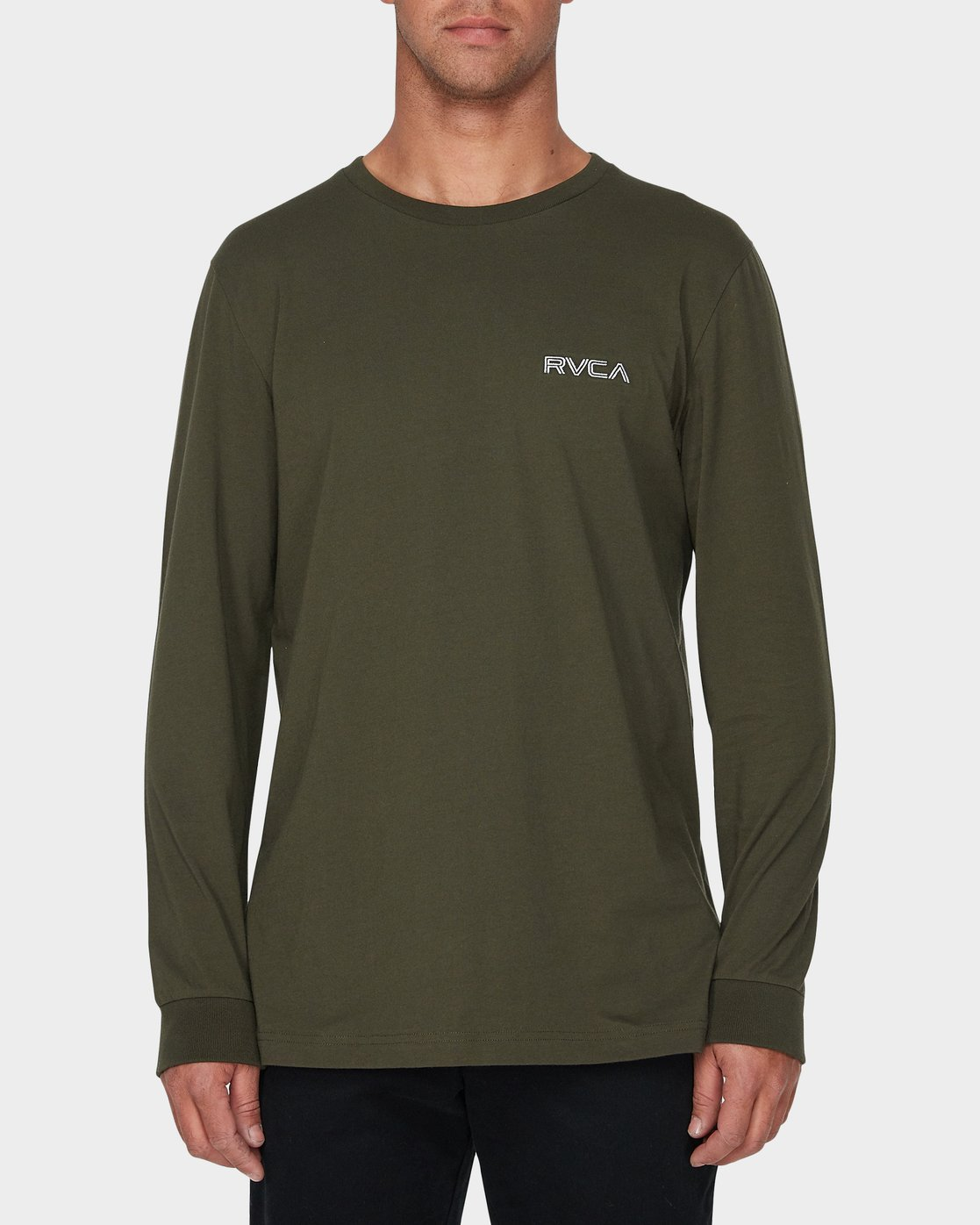 0 RVCA Keyliner Long Sleeve T-Shirt  R193094 RVCA