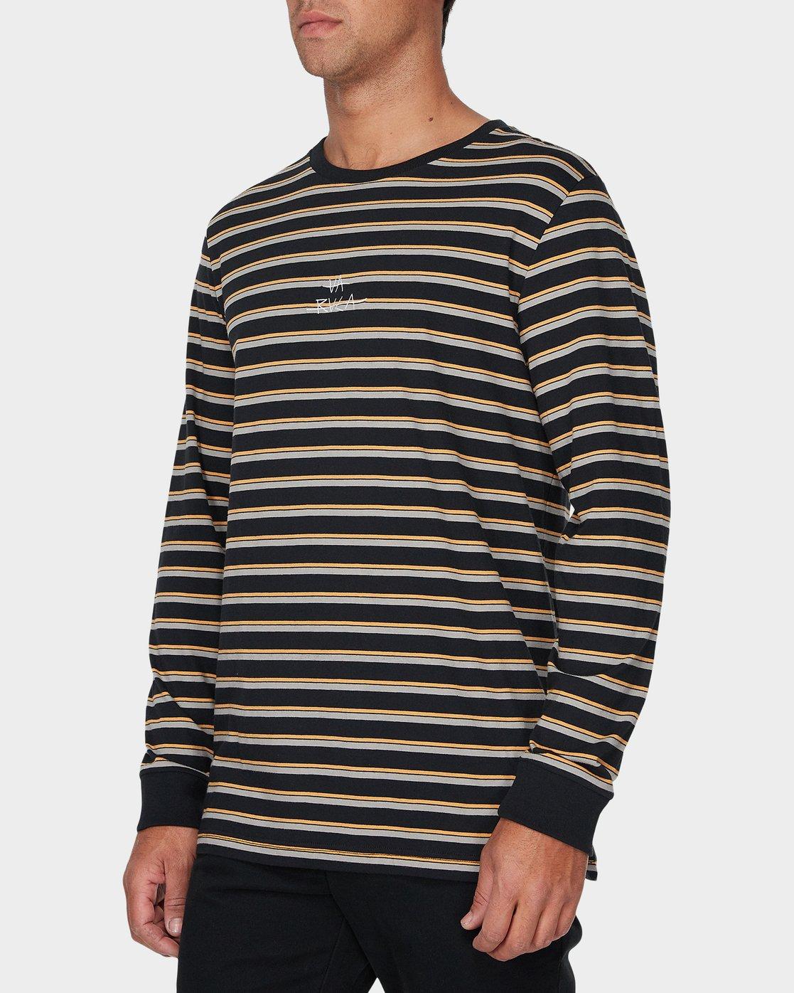 1 Slasher Long Sleeve T-Shirt  R193096 RVCA