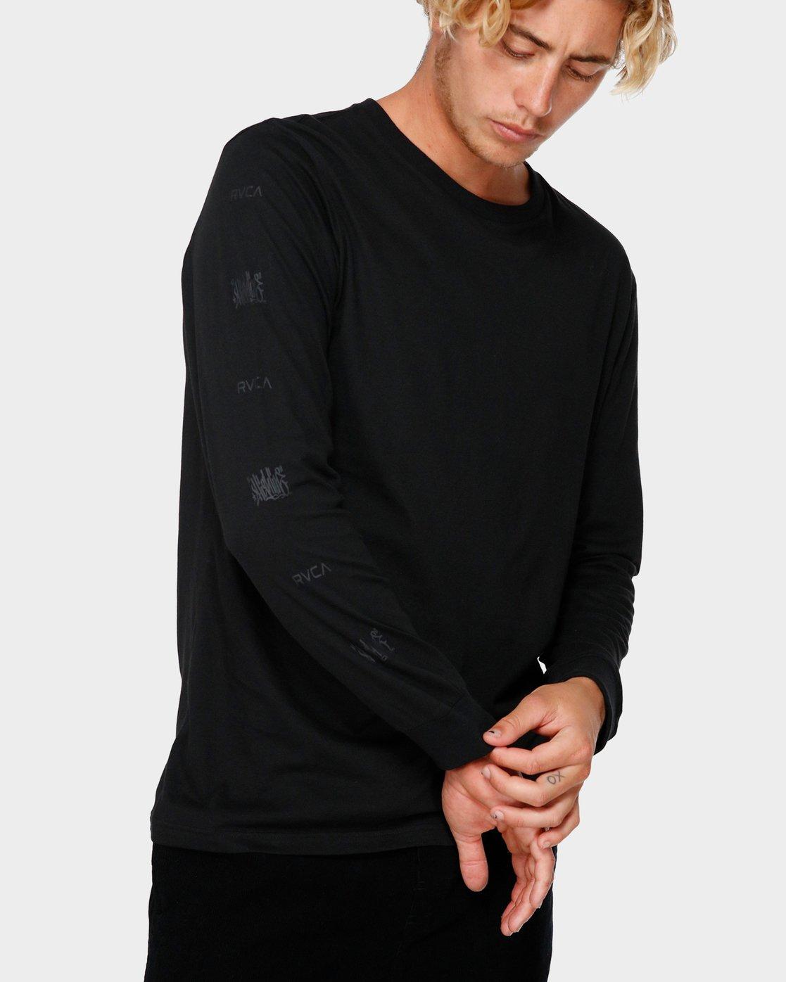 0 RVCA X Highline T-Shirt  R193106 RVCA