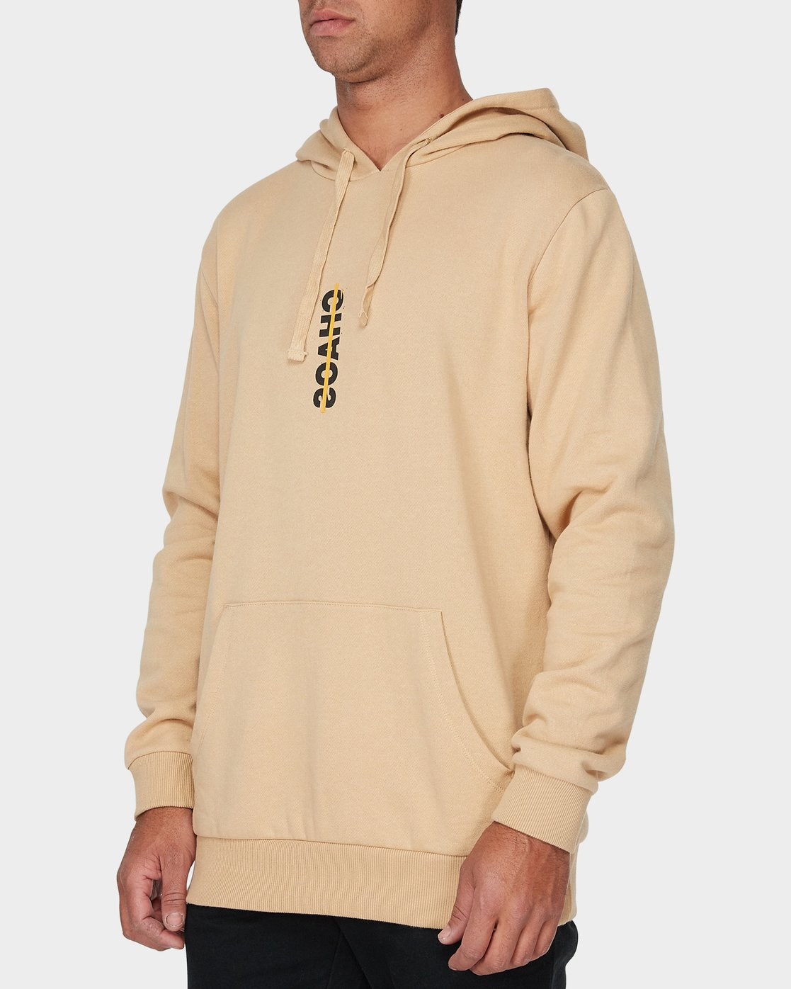1 Chaos Pullover Hood Yellow R193165 RVCA