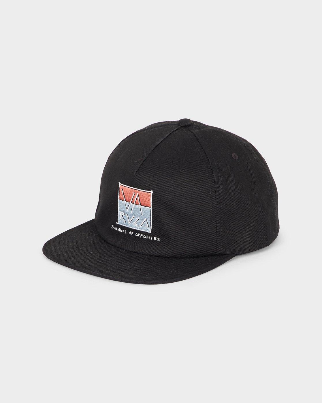 0 Scum Cap Black R193566 RVCA