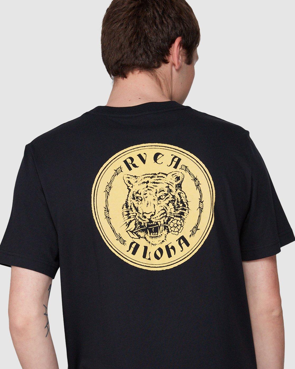 4 RVCA Aloha Benj Short Sleeve T-Shirt  R194042 RVCA