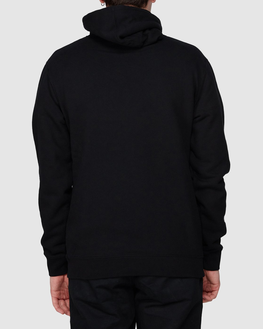 2 Too High To Surf Pullover Black R194156 RVCA