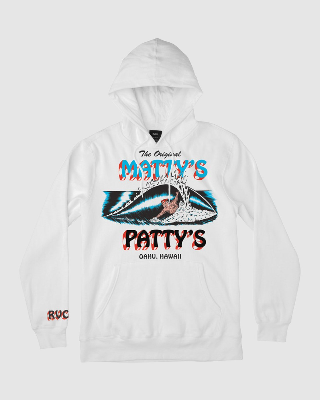 2 Matty's Patty's Hoodie White R194158 RVCA