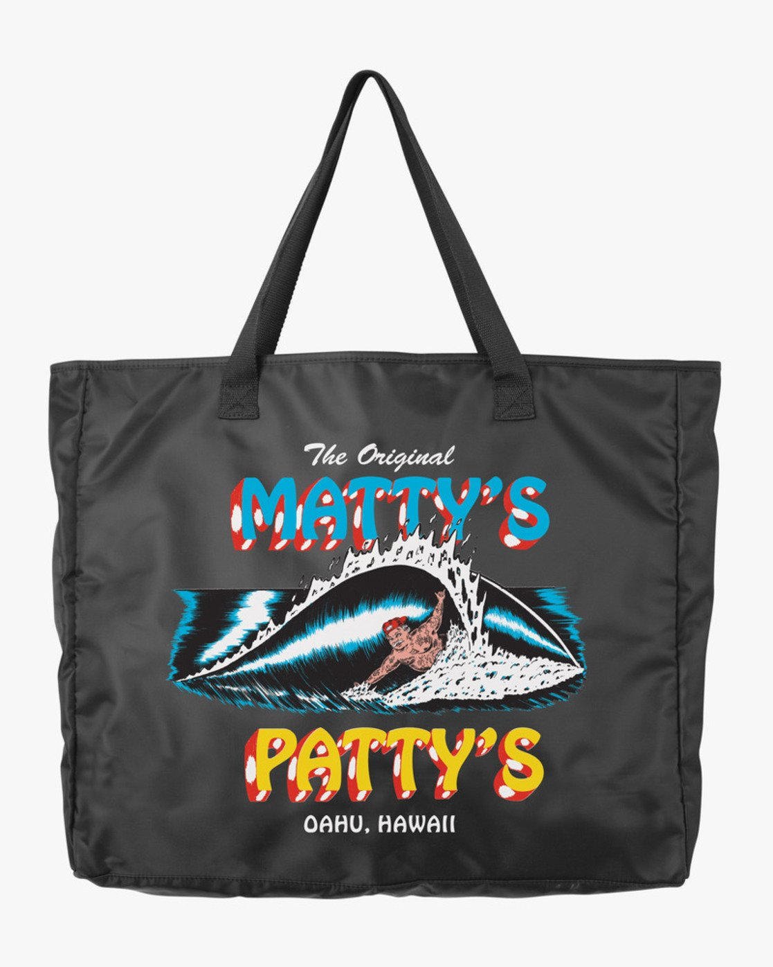 0 Matty's Patty's Tote Black R194471 RVCA