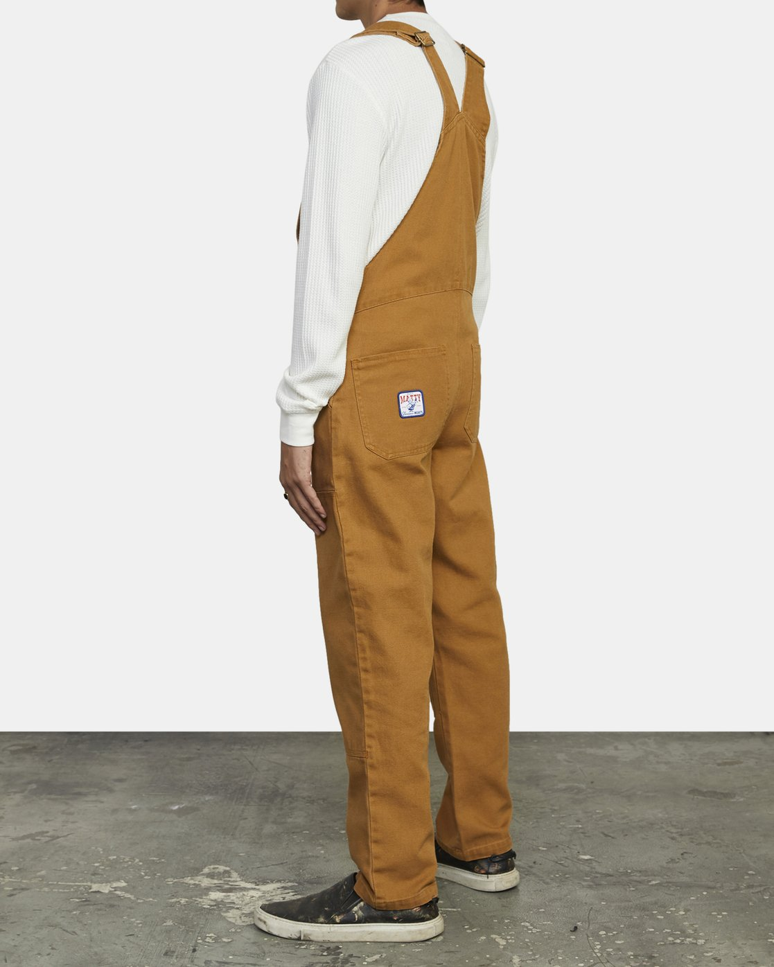 2 Matty Matheson - Dungarees for Men Brown R1PTMARVW9 RVCA