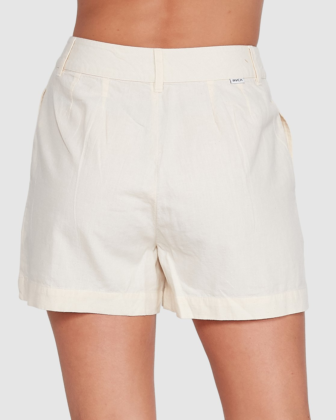 1 Crush Chq Short White R206312 RVCA