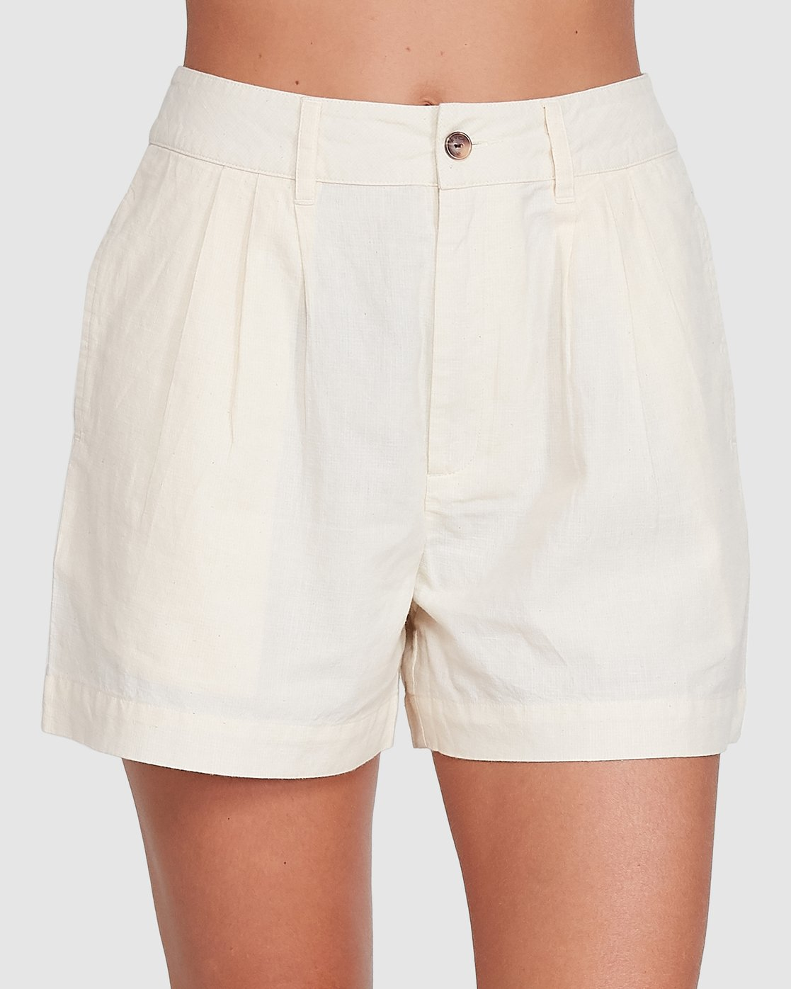 2 Crush Chq Short White R206312 RVCA
