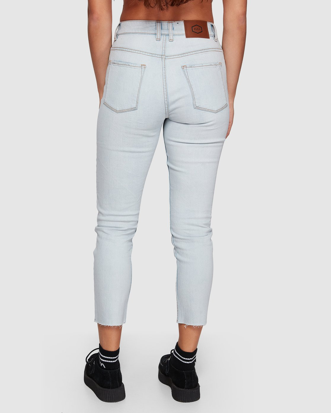 4 Smitten Jean Pants - Bleachout White R207222 RVCA