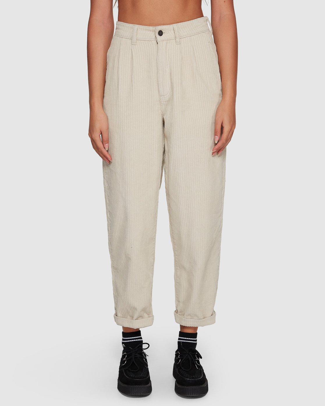 3 Plushed Trousers Beige R207271 RVCA