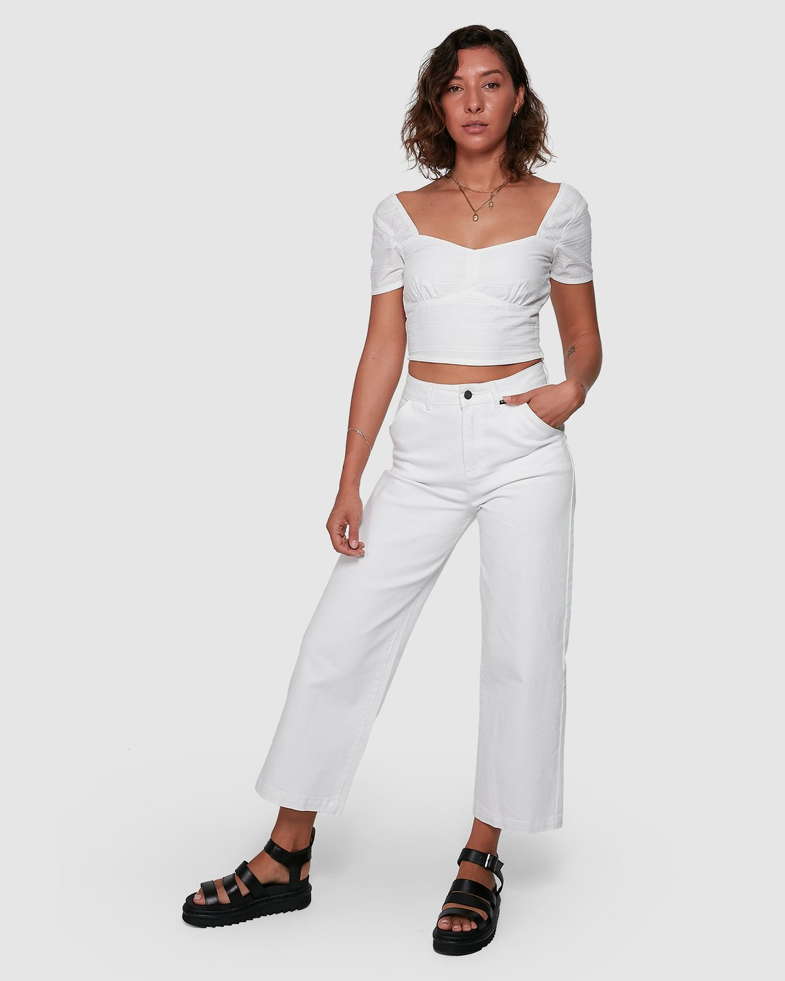 6 Fresh Prince Pants White R207277 RVCA