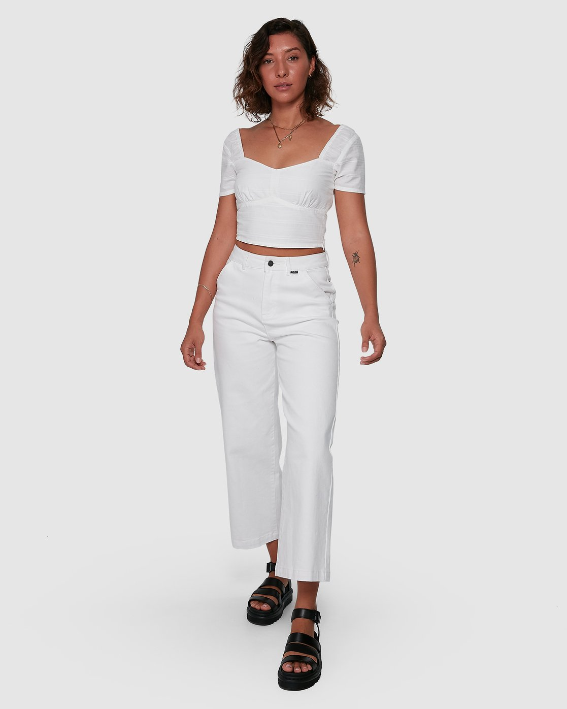1 Fresh Prince Pants White R207277 RVCA