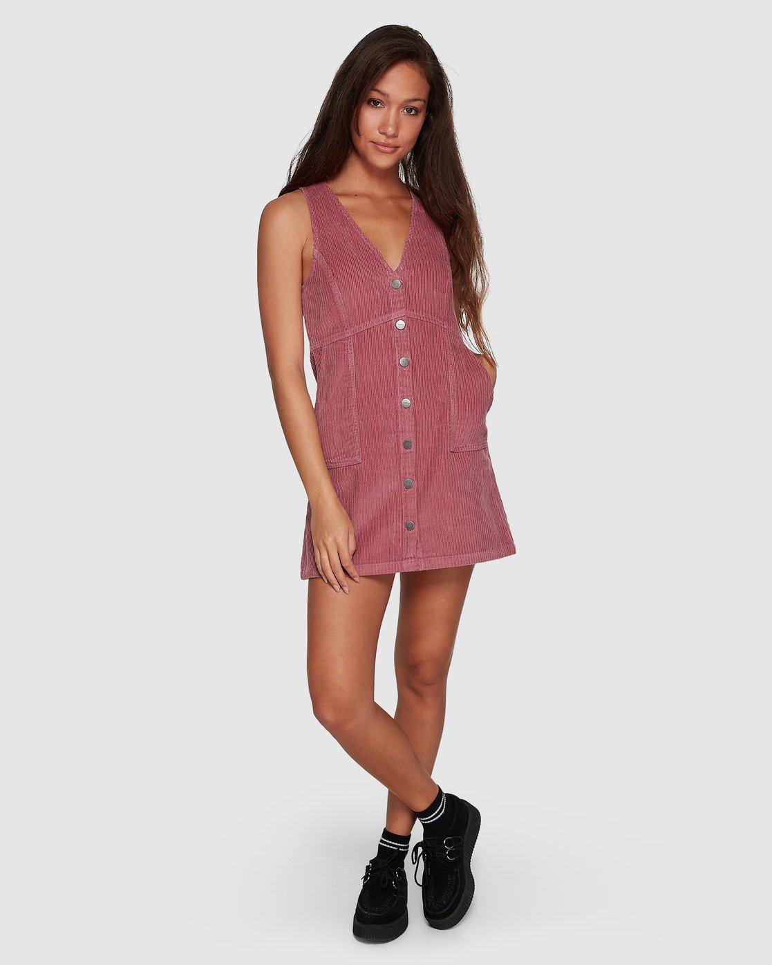 5 Plush Faithless Dress Purple R207760 RVCA