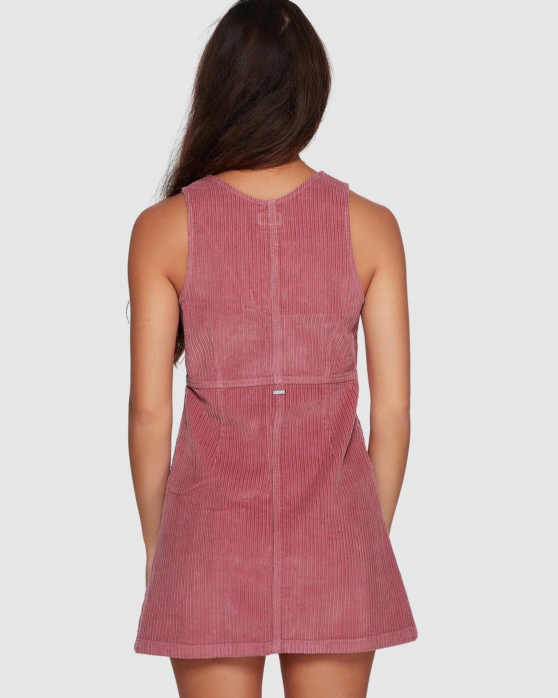 2 Plush Faithless Dress Purple R207760 RVCA