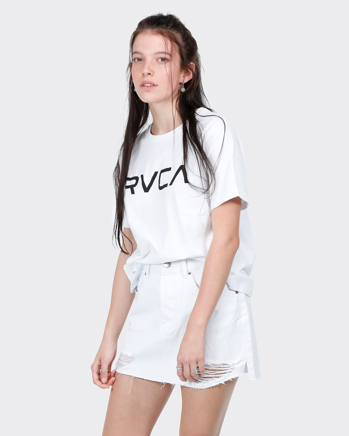 1 Big RVCA Ii T-Shirt White R271684 RVCA