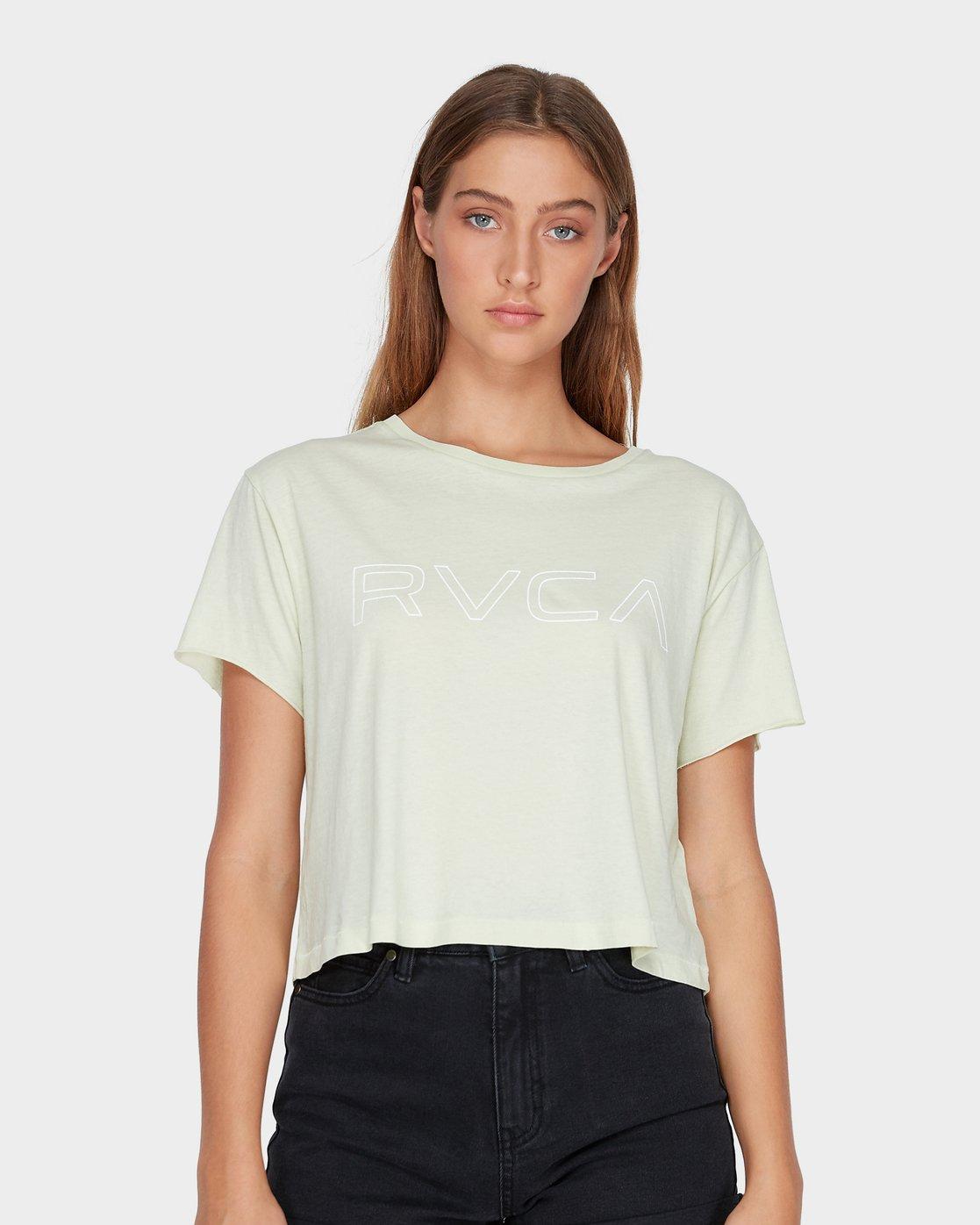 0 Keyline RVCA T-Shirt  R271685 RVCA