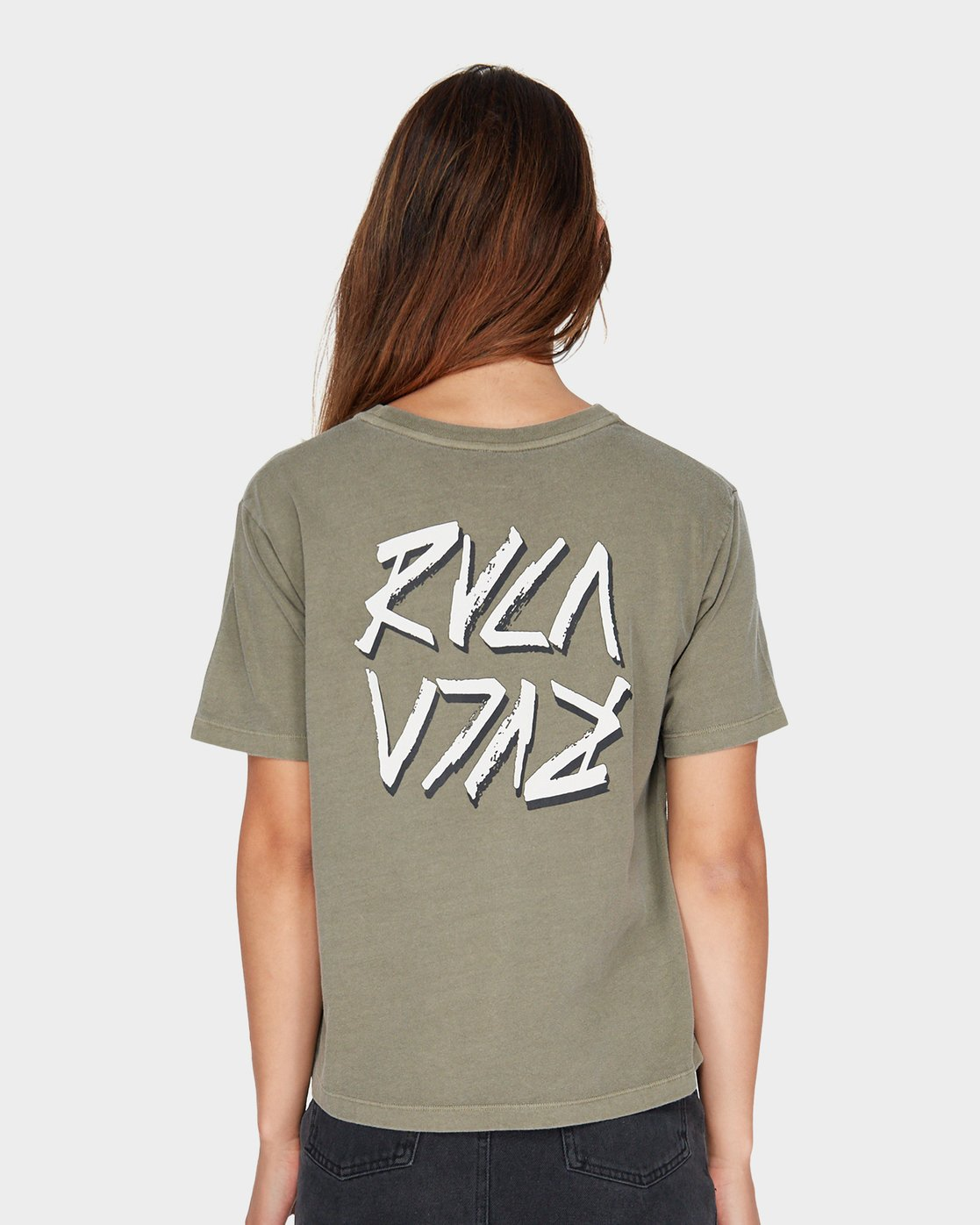 2 Chisel Box T-Shirt  R281693 RVCA