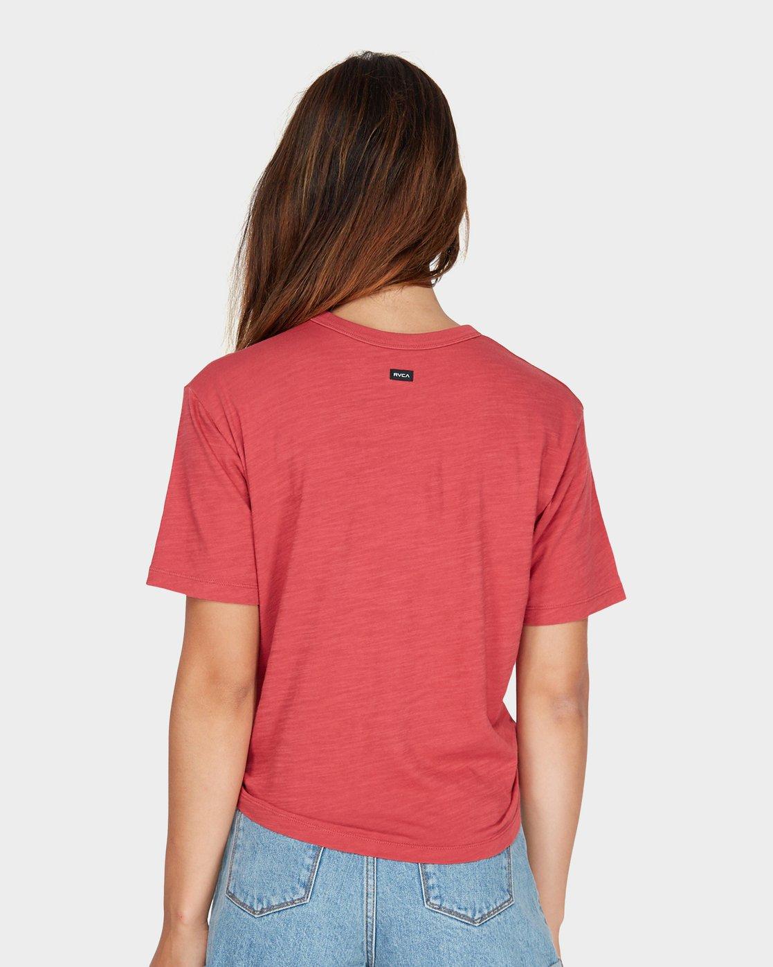 2 Crud Tie T-Shirt  R281694 RVCA