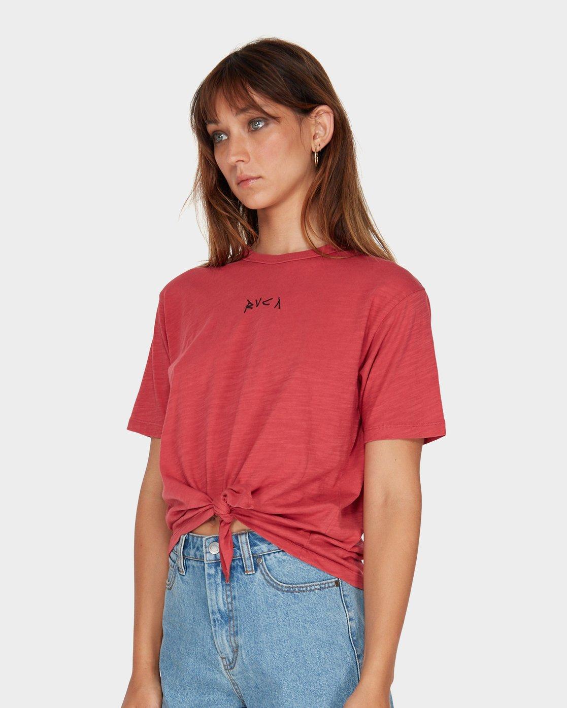 1 Crud Tie T-Shirt  R281694 RVCA