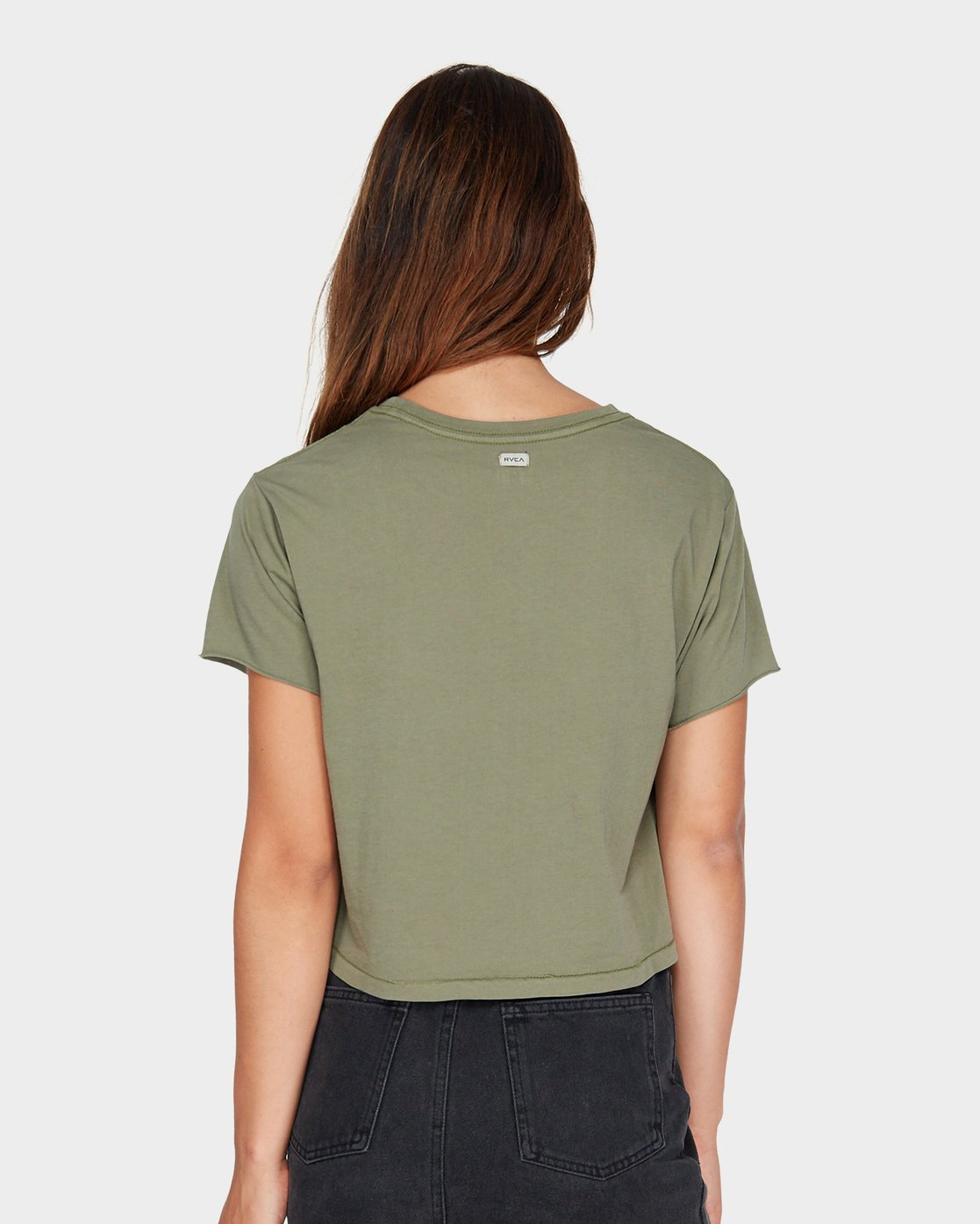 2 Tonally Mini RVCA T-Shirt Green R281696 RVCA