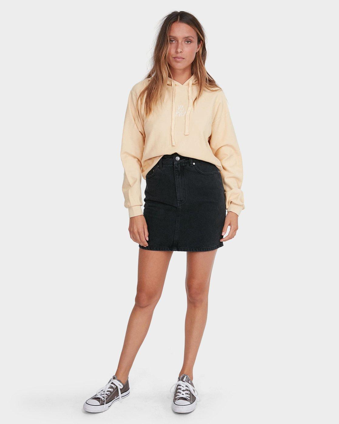 5 Jolt Skirt Black R281835 RVCA