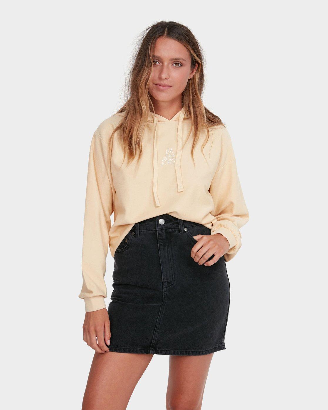 0 Jolt Skirt Black R281835 RVCA