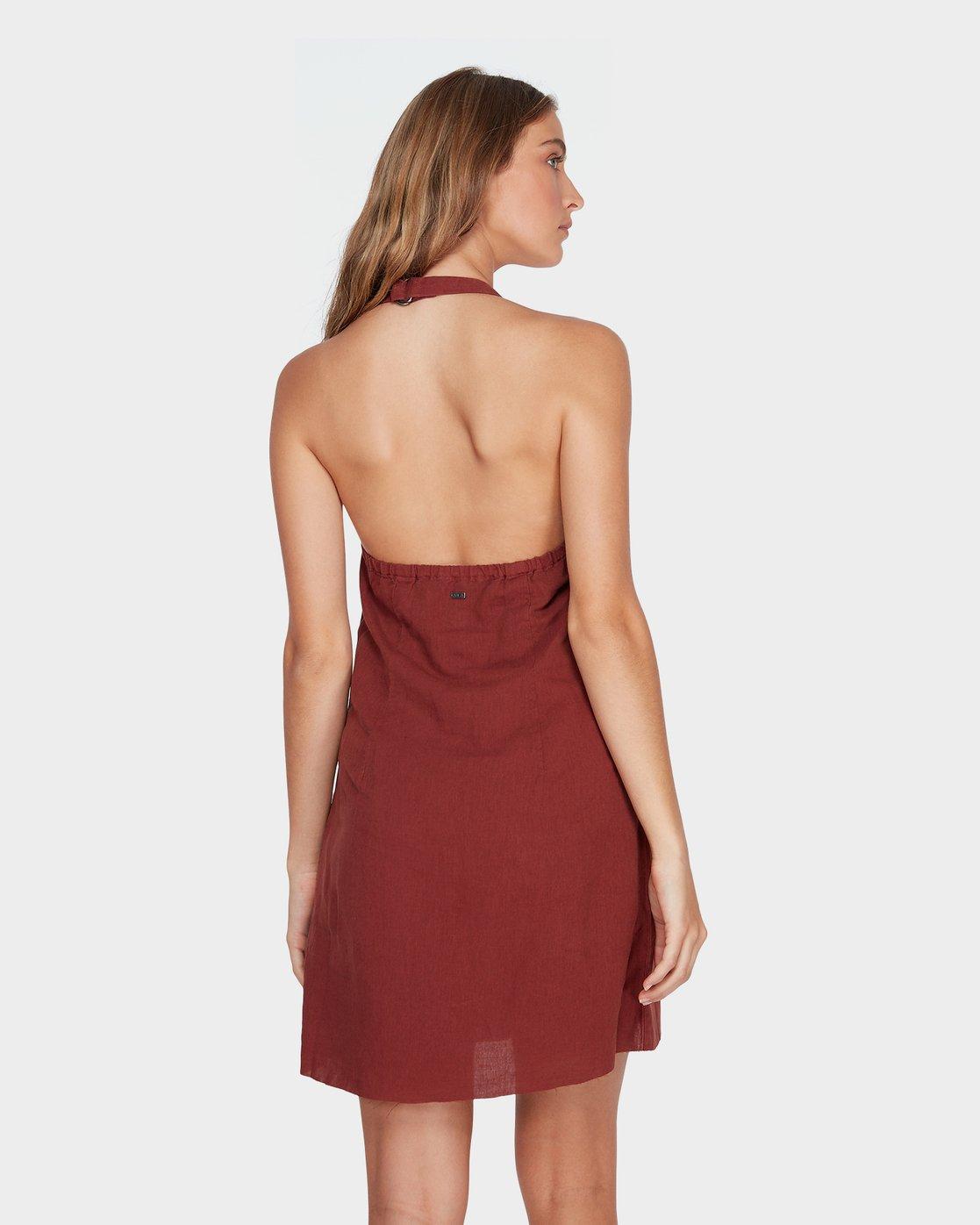 2 Holt Dress Brown R282758 RVCA