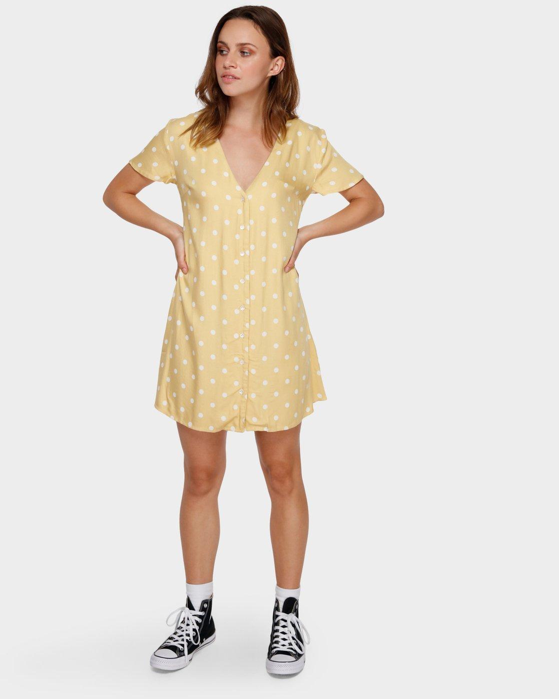 4 Benji Dress Beige R282774 RVCA