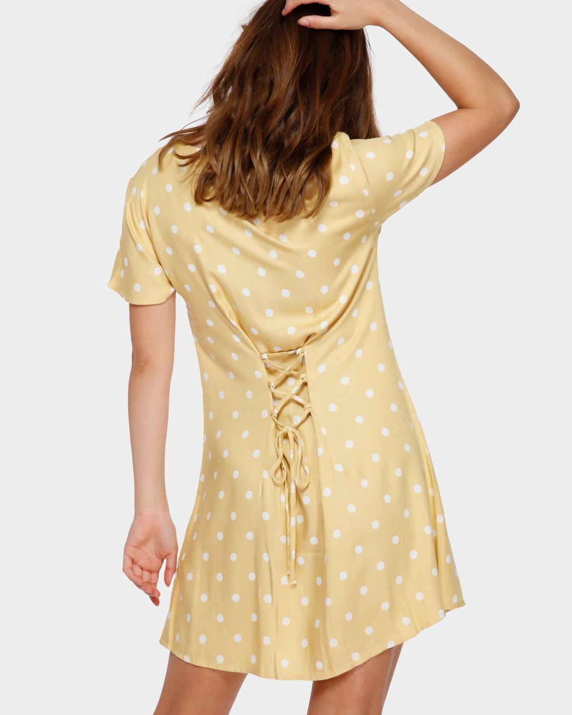 3 Benji Dress Beige R282774 RVCA