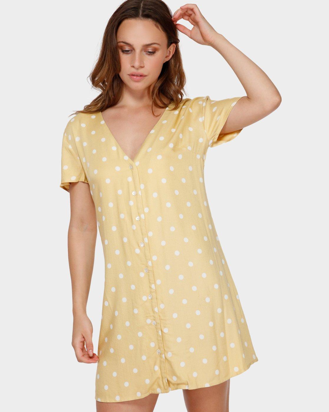 0 Benji Dress Beige R282774 RVCA