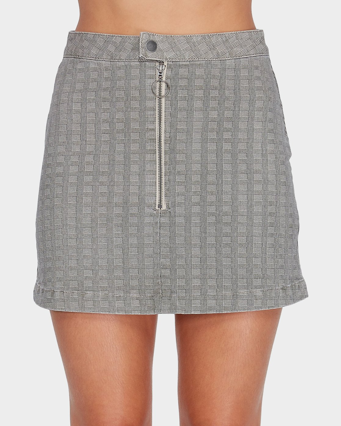 2 Bizness Mini Skirt Black R282831 RVCA